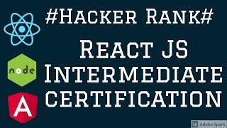 Hacker Rank React JS Certification Intermediate #05