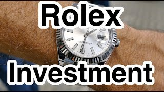 Rolex Investment in 4k UHD