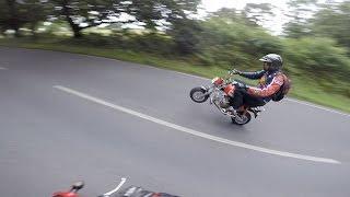 Llama Run 2015 on a Honda MSX 125 Grom