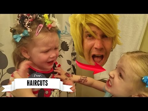 The Day I Became a Hair Stylist! Trinity Shows her New Hairdresser Talent