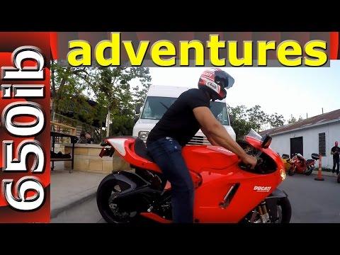 650ib Adventures   Austin, TX 2016 Handbuilt Motorcycle Show & Desmosedici RR test ride