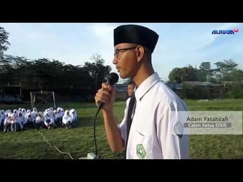 Pemaparan Visi Misi Calon Ketua OSIS MA.Al-Huda Masa Jihad 2016-2017