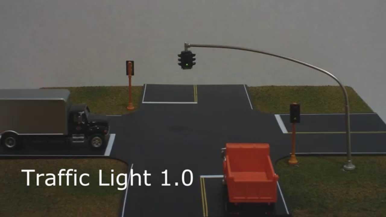 Model Railroad Traffic Light Circuit Tl 1 Youtube Wiring