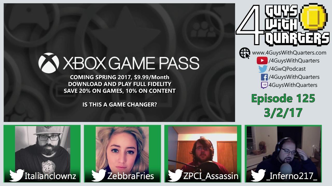 4GwQPodcast Ep125 – Xbox Game Pass, Horizon Zero Dawn