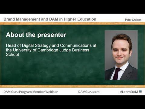 DAM Guru Program: Brand Management and DAM in Higher Ed