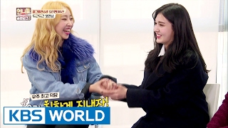The first meeting of unnies (Feat. Somi