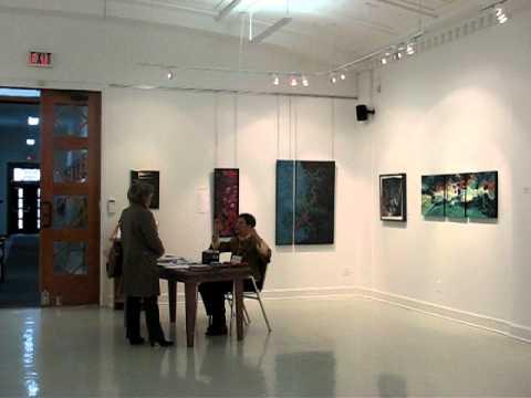SUZANNE LORD, exposition Boréart, Granby octobre 2...
