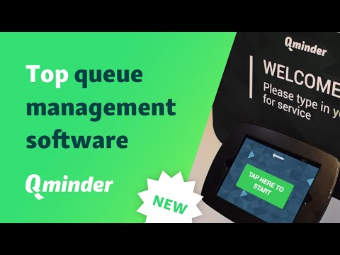 Qminder: TOP queue management system for data-driven customer experience