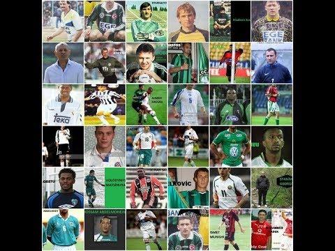 Kocaelispor tarihindeki tüm yabancı futbolcular | Kocaelispor
