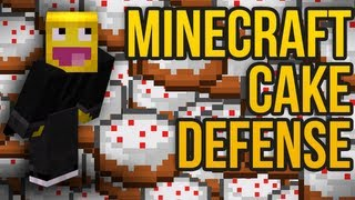 Minecraft Cake Defense: MasterSKKF?!