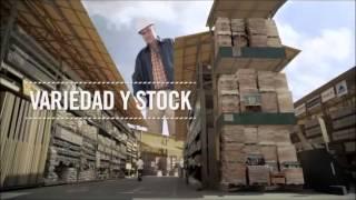 Variedad y stock para los gigantes de la construcción