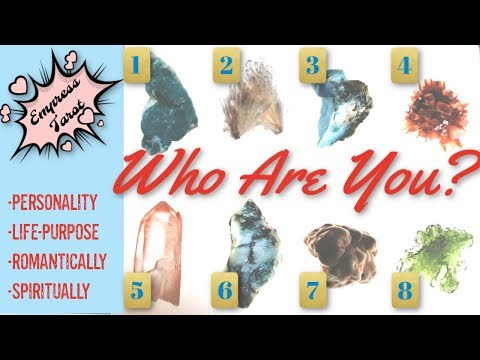 Choose A Stone: Who Are You? Personality? Life Purpose? Romance Style? Spiritual Approach?