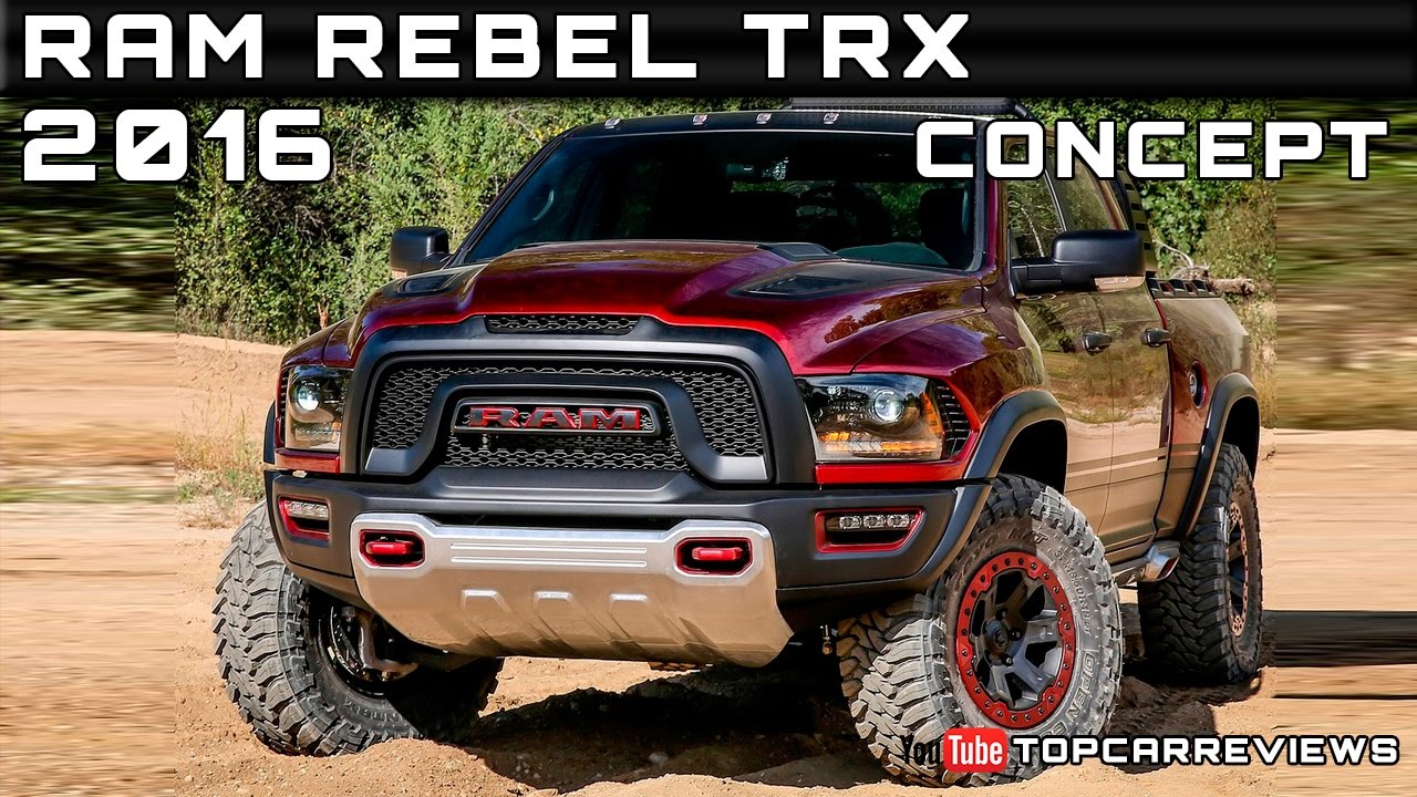 2016 Ram Rebel Trx Concept Review Rendered Price Specs Release Date You