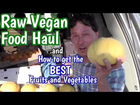 Raw Vegan Food Haul + How to Get the BEST Fruit & Vegetables