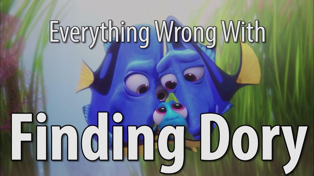Filmy Sins: Everything Wrong With Finding Dory In 16 Minutes Or Less
