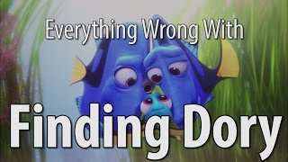 Repeat youtube video Everything Wrong With Finding Dory In 16 Minutes Or Less