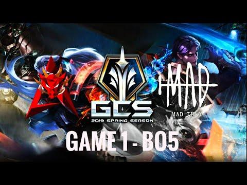 HKA Vs MAD Team Game 1 |GCS Mùa Xuân 2020|