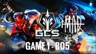 HKA Vs MAD Team Game 1  GCS Mùa Xuân 2020 