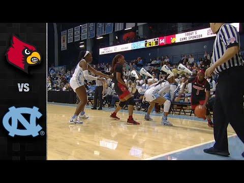 Louisville Vs. North Carolina Women's Basketball Highlights (2019-20)