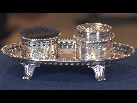 Old Sheffield Plate Pounce Pot, ca. 1775 | Web Appraisal | Albuquerque