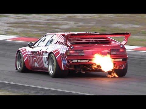 BMW M1 ProCar w/ Straight Pipes Pure Sound! Best sounding BMW inline-6?