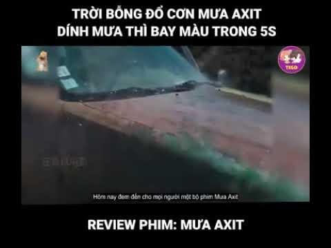 Xem phim Cơn mưa thịt viên 2 - Review Phim: Mưa Axit - Trời Bổng Đổ Cơn Mưa Axit Dính Mưa Thì Bay Màu Trong 5s