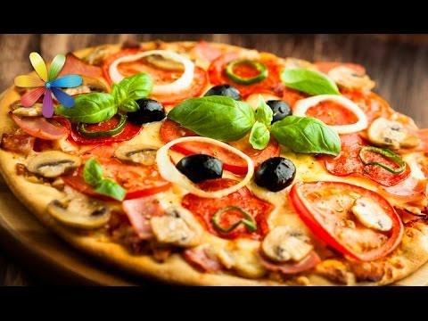 Диетическая пицца для похудения рецепт с фото
