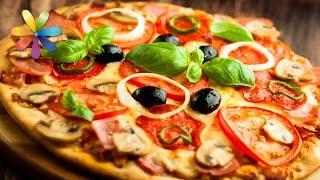 Итальянская диетическая пицца по рецепту Натальи Валевской! – Все буде добре. Выпуск 787 от 06.04.16