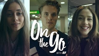 On the go with EF #1 – Meet our vloggers: Maria, Elenor & Filip