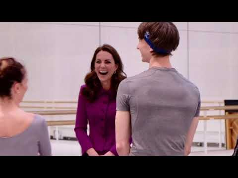 Duchess Of Cambridge Visits Royal Opera House Costume Department 2019