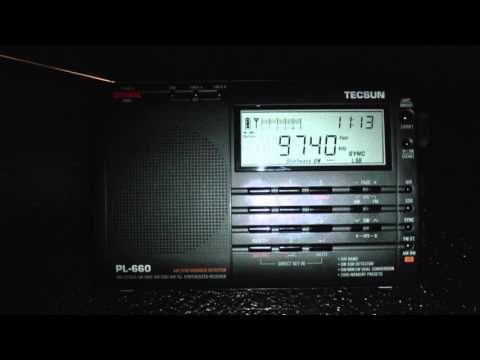 BBC Radio Iraq war Doco 9740kHz Shortwave Radio