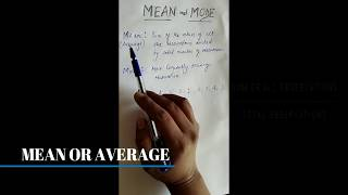 How to find mean and mode from given observations