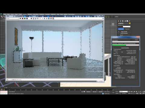 quickie 03 3dsmax vray lighting with daylight and hdri