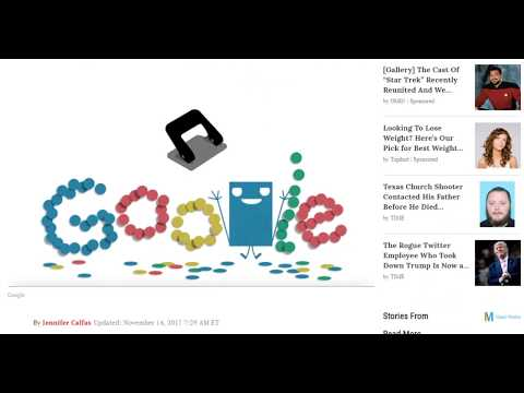 Your Office Hole Puncher Just Got Its Own Adorable Google Doodle