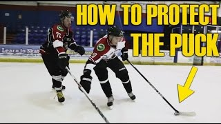 How to protect the puck in hockey - Puck protection thumbnail