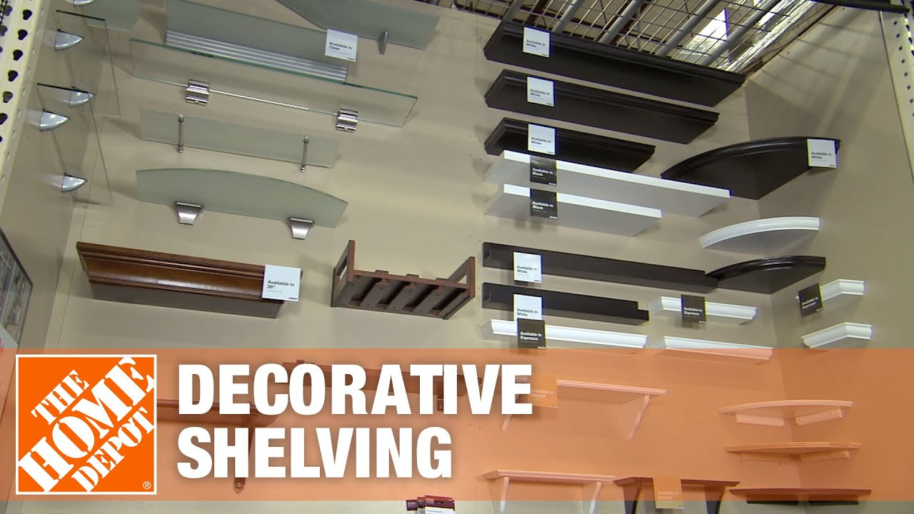 Home Decorators Collection Decorative Shelving The Home Depot Youtube