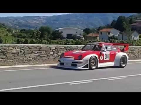Campeonato Nacional de Montanha - Santa Marta de Penaguião 2015 - António Nogueira Porsche GT2