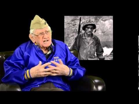 "Paul Minehan WWII Marine vet ""I Was There"" by White Oak Elementary 5th Grade Class Interview"
