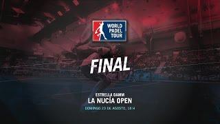 DIRECTO | FINAL La Nucía Open | World Padel Tour 2015