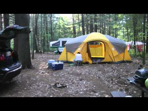 camping set up youtube. Black Bedroom Furniture Sets. Home Design Ideas