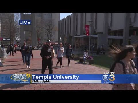 CBS3 Mobile Weather Watcher At Temple University