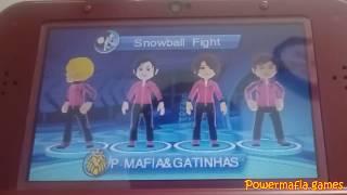 Deca Sports Extreme - 3DS - Batalha de bola de neve