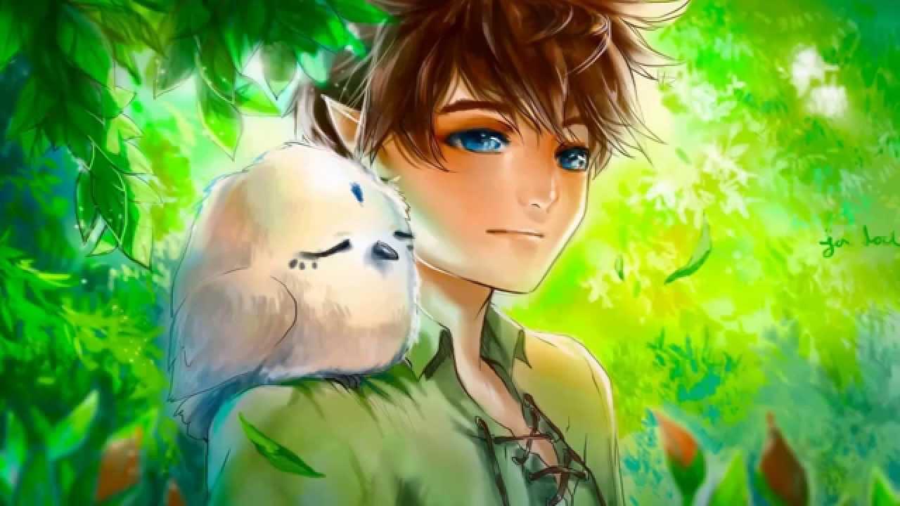 Pretty Anime Girl Wallpaper Forest Elf Music Leafblade Woods Youtube