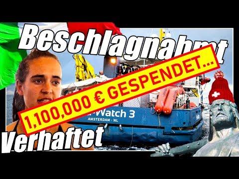 Sea Watch 3 Kapitän verhaftet   Schiff beschlagnahmt   Sea Eye unterwegs