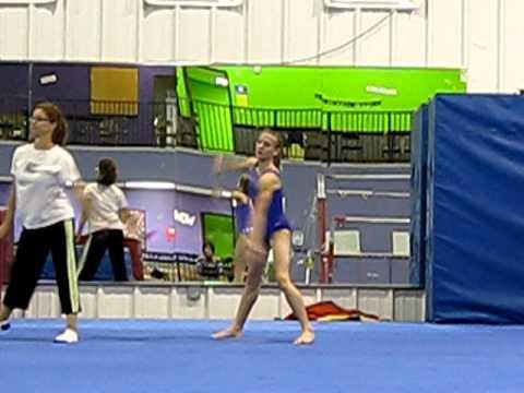 Paris Lafleur S Gymnastics Level 9 Floor Routine Doovi