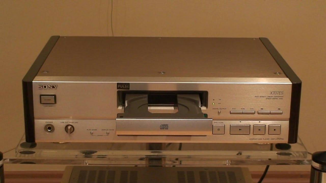 Sony Cdp-x 707 Es Demo