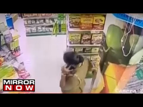Supermarket Staff Assaulted After CCTV Footage Of Cop Caught Shoplifting In Chennai