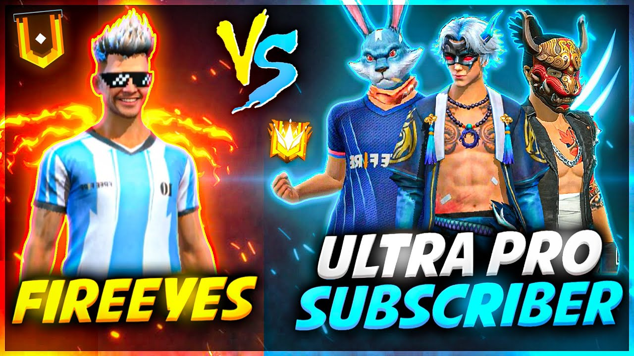FireEyes VS Pro Subscribers🔥 Best Clash Squad Battle must watch| Intense Gameplay | Garena Free Fire