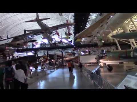 Airplane Museum Washington D.C. Udvar-Hazy Center