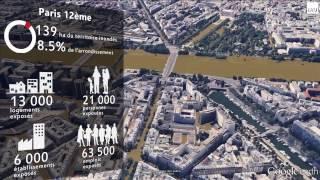 Simulation d'une crue centennale à Paris